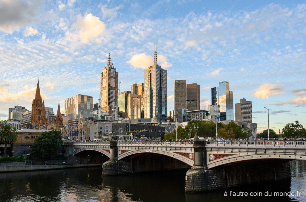 Nos premiers pas à Melbourne