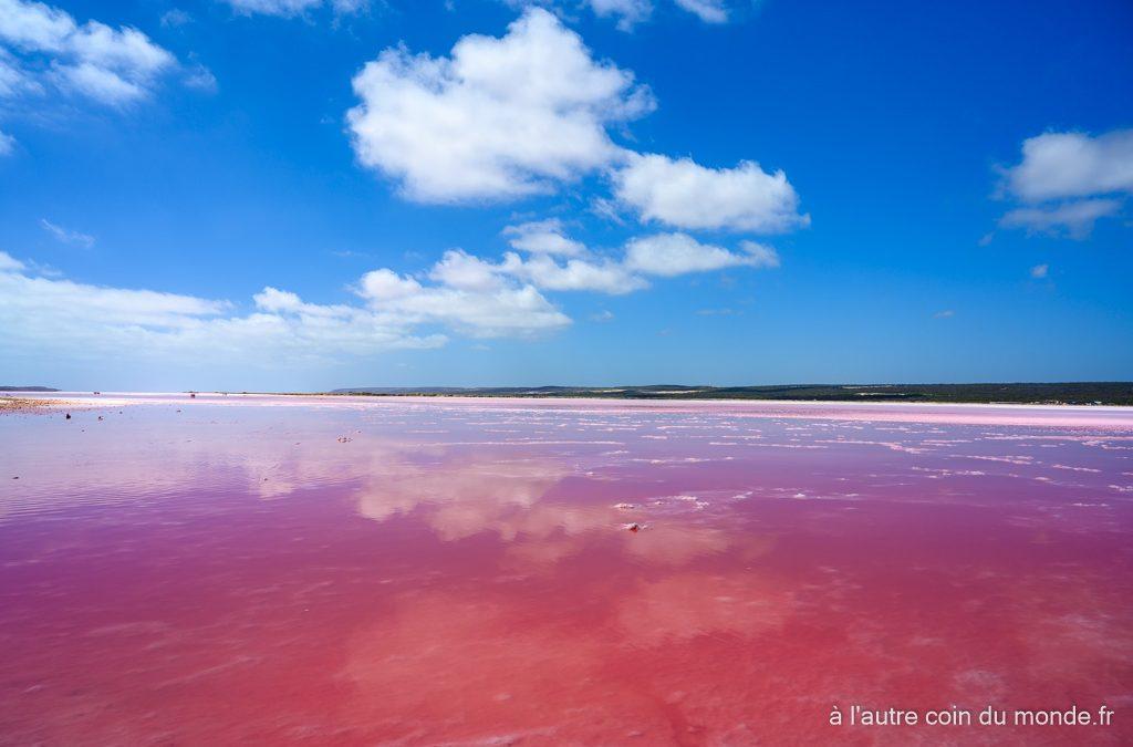 Pink lake de port gregory, de Cervantes à Kalbarri (380km, 4h) – Jour 2 de notre road trip sur la côte ouest australienne