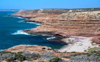 Eagle Gorge lookout - Vue des roches rouges de la côte ouest australienne Kalbarri